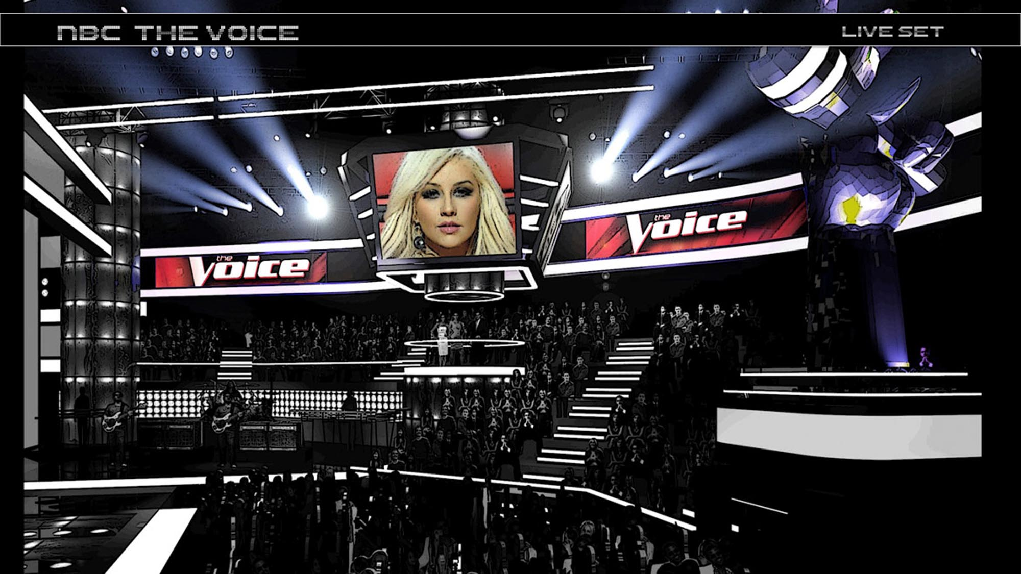 The Voice Set x1