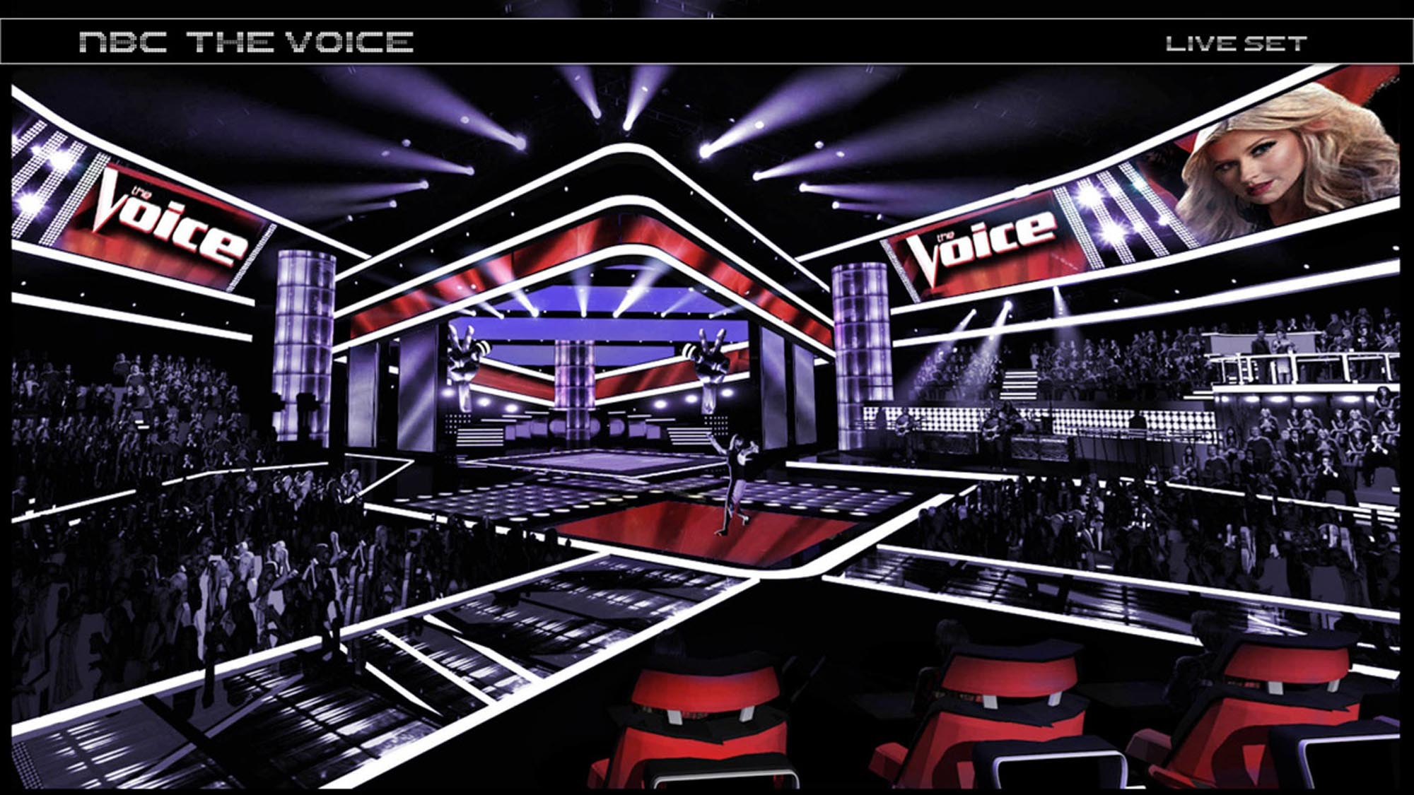 The Voice Set x2