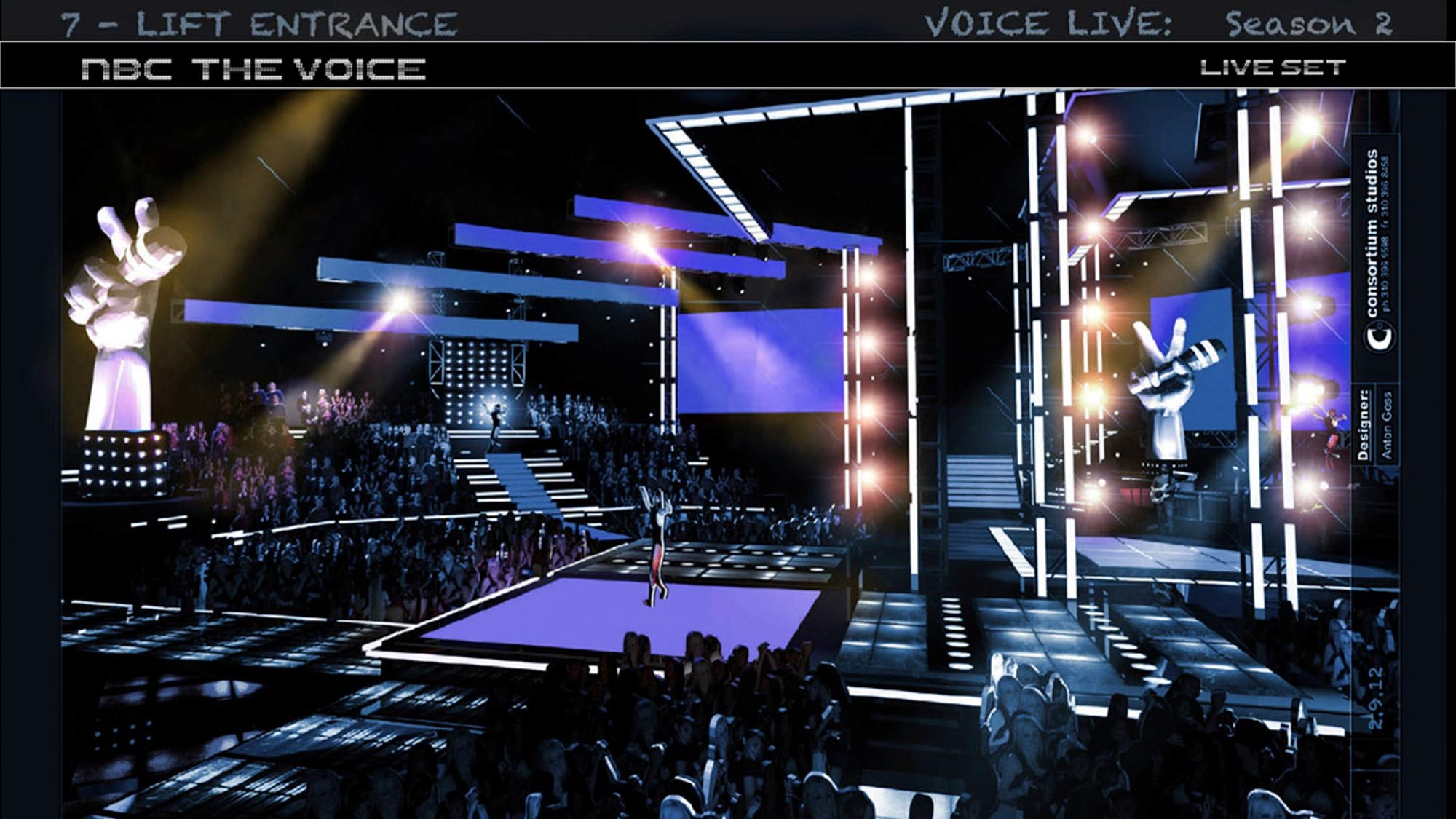 The Voice Set x3